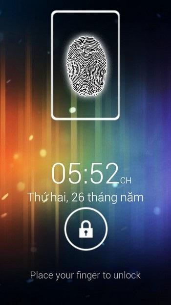 Cách thức mở khóa thiết bị Android bằng dấu vân tay