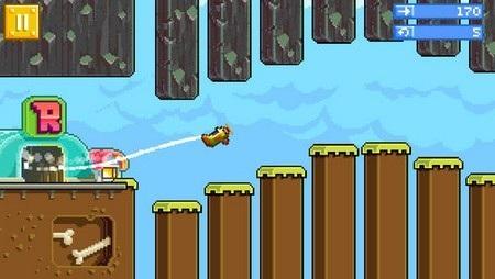 Đồ họa và cách chơi của Retry khiến nhiều người nghĩ ngay đến Flappy Bird