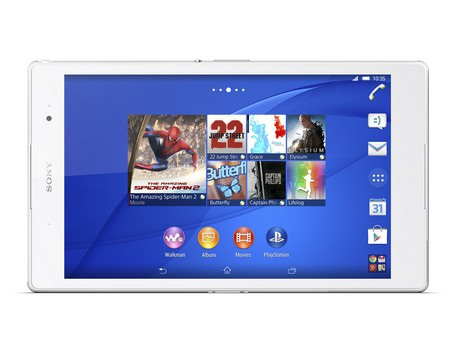 Xperia Z3 Tablet Compact là chiếc máy tíŮh cỡ nhỏ mỏng và nhẹ nhất thế giới hiện nay