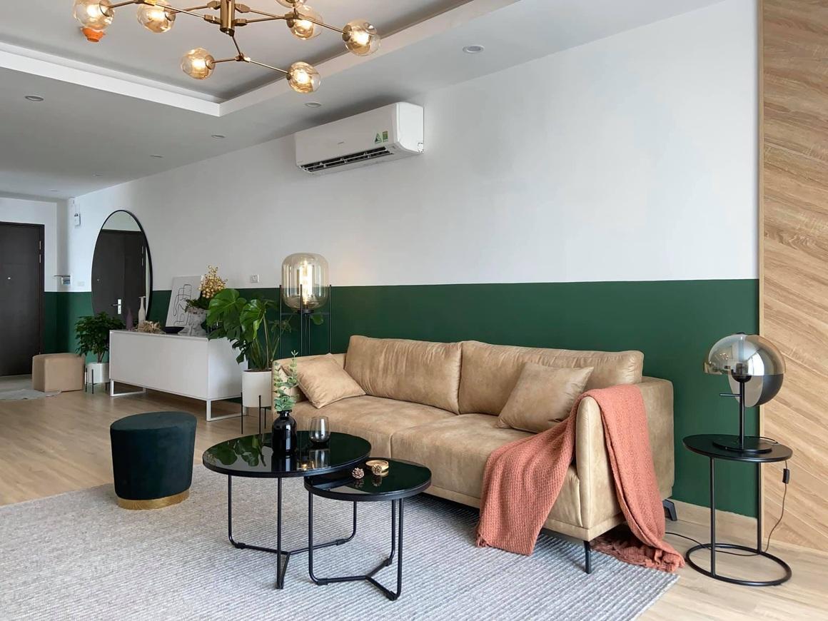 Ngắm căn hộ của gia chủ khó tính: Nội thất đẹp, lạ với tông màu xanh đậm - 3