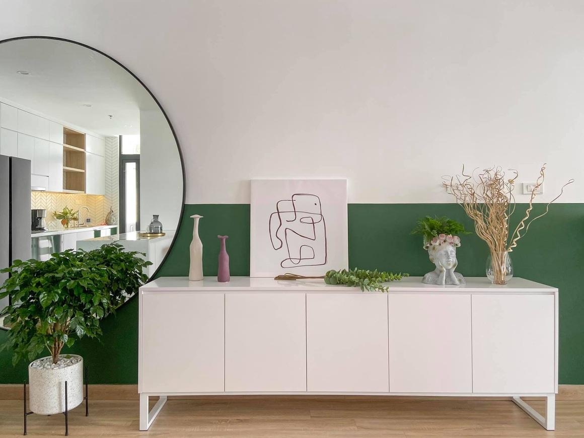 Ngắm căn hộ của gia chủ khó tính: Nội thất đẹp, lạ với tông màu xanh đậm - 5
