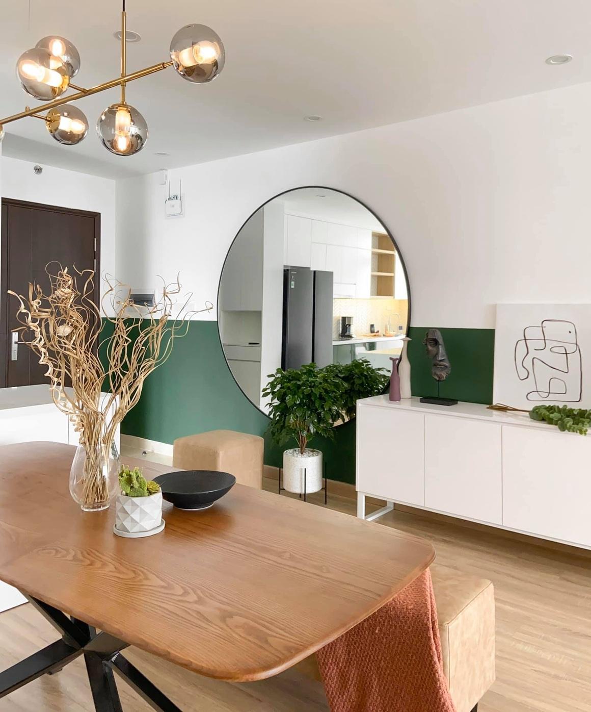 Ngắm căn hộ của gia chủ khó tính: Nội thất đẹp, lạ với tông màu xanh đậm - 10
