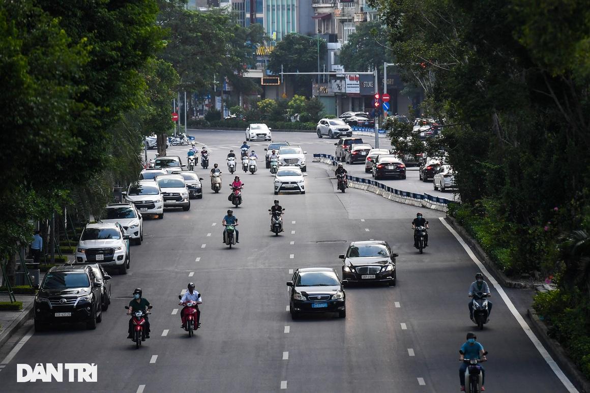 Giao thông vùng xanh ở Hà Nội nhộn nhịp trở lại sau quy định nới lỏng - 6