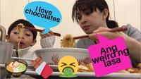 Mì ramen vị sô cô la chào lễ Tình nhân tại Nhật Bản