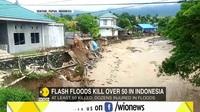 Lũ quét tại Indonesia, ít nhất 63 người thiệt mạng