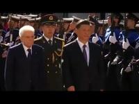 Italy trải thảm đỏ đón Chủ tịch Trung Quốc Tập Cận Bình