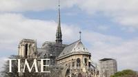 """Nhà thờ Đức Bà Paris trước và sau khi chìm trong """"cơn bão lửa"""""""