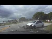 Một pha rượt đuổi, vây bắt xe vi phạm đầy gay cấn của cảnh sát Mỹ
