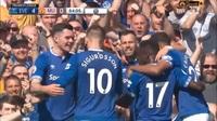Digne ghi bàn thứ ba cho Everton vào lưới Man Utd