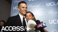 Tom Brady hạnh phúc bên Gisele
