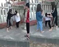 Clip nữ sinh lớp 10 bị đánh