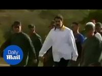 Tổng thống Maduro cổ vũ tinh thần quân đội Venezuela