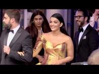 Aishwarya Rai sang trọng với váy vàng