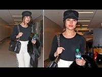 Olivia Culpo sành điệu tại sân bay