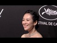 Chương Tử Di xinh đẹp tại Cannes 2019