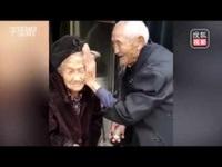 Tình yêu đáng ngưỡng mộ của cụ ông 97 tuổi và cụ bà 99