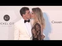 Antonio Banderas đẹp đôi bên Nicole Kimpel
