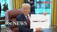 """Ông Trump hé lộ diện mạo mới của chuyên cơ """"Nhà Trắng trên không"""""""