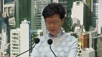 Lãnh đạo Hong Kong tuyên bố dừng vô thời hạn dự luật dẫn độ