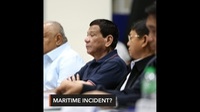 """Tổng thống Philippines: Vụ va chạm với tàu Trung Quốc trên Biển Đông là """"tai nạn"""""""