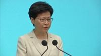 """Lãnh đạo Hong Kong """"xin lỗi chân thành"""" vì dự luật dẫn độ"""