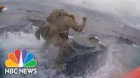 """""""Nghẹt thở"""" cảnh tuần duyên Mỹ truy bắt tàu ngầm chở số ma túy 232 triệu USD"""