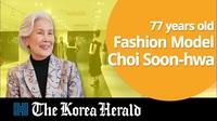 Sức hút của người mẫu 77 tuổi ở Hàn Quốc