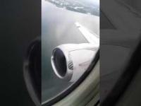 Video động cơ máy bay Mexico bốc khói vì chim lao trúng khi cất cánh