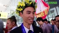 Em Trần Xuân Tùng giành huy chương Vàng Olympic Vật lý quốc tế 2019