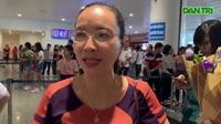 Chị Lê Thị Ngọc Diệp, mẹ của Trần Xuân Tùng đạt HCV Olympic Vật lý quốc tế 2019