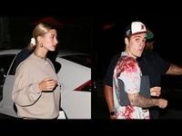 Justin Bieber và Hailey Baldwin sành điệu ra phố
