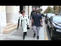 Kris Jenner và Corey Gamble đi mua sắm ở Pháp