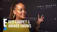 Rihanna rực rỡ với váy vàng
