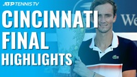 Sau khi loại Djokovic, Medvedev đã vô địch ở Cincinnati