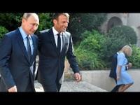 Ông Putin gặp Tổng thống Pháp trước thềm hội nghị G7