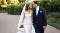 Chris Pratt và Katherine Schwarzenegger hạnh phúc trong ngày cưới