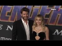 Miley Cyrus, Liam Hemsworth đẹp đôi dự công chiếu phim