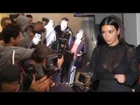 Kim Kardashian bị thợ săn ảnh bao vây