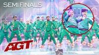 Choáng ngợp xem vũ điệu xiếc đỉnh cao của những tài năng Ấn Độ
