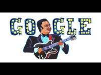 """Google Doodle vinh danh """"ông hoàng nhạc blue"""" B.B.King"""