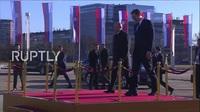 Serbia trải thảm đỏ đón Tổng thống Putin