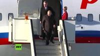Siêu xe bọc thép 6 tấn của ông Putin gây chú ý tại Serbia