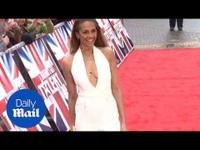 Alesha Dixon quyến rũ trên thảm đỏ