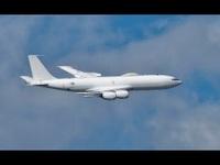 """Máy bay """"Ngày tận thế"""" E-6B Mercury của Mỹ"""