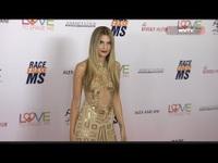 Rachel McCord diện váy gợi cảm