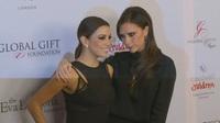 Victoria Beckham thân thiết bên Eva Longoria