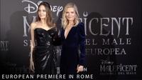 Angelina Jolie quảng bá phim ở Rome, Ý