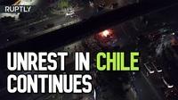 """Chile chìm trong bạo lực, tổng thống tuyên bố """"chiến tranh"""""""