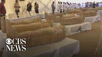 """""""Mục sở thị"""" 30 quan tài chứa xác ướp 3.000 năm còn nguyên vẹn của Ai Cập"""