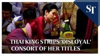 Quốc vương Thái Lan tước bỏ mọi tước hiệu của Hoàng quý phi